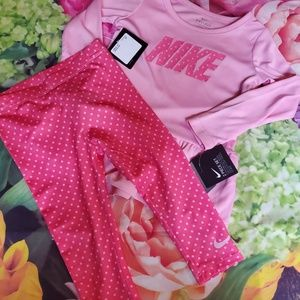 nwt nike 2 piece outfit set girls 2t